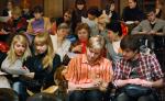 [размер: 800x491 пикселей; 86,3 кбайт]  01.03.10     Зимняя методическая школа для преподавателей английского языка в НГТУ  фотограф В. Невидимов