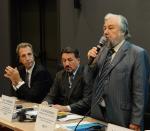 [размер: 682x600 пикселей; 58,5 кбайт]  18.09.13     НГТУ - организатор панельной дискуссии «Влияние энергетики на изменение и защиту климата в Сибирском регионе»  фотограф В. Невидимов