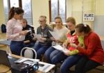 [размер: 760x532 пикселей; 65,3 кбайт]  Школа-семинар «Создание видеогазеты для студентов с ограниченными возможностями здоровья по слуху» завершила работу в НГТУ   фотограф  В. Кравченко