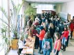[размер: 796x600 пикселей; 113,3 кбайт]   «Практик брейк» – мероприятие по поиску места прохождения практики для студентов факультета бизнеса