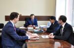 [размер: 2000x1331 пикселей; 1629,1 кбайт]  Подписание меморандума между опорным вузом и Региональной общественной организацией Казахстана  фотограф В. Шигина