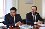 [размер: 2000x1331 пикселей; 1525,6 кбайт]  Подписание меморандума между опорным вузом и Региональной общественной организацией Казахстана  фотограф В. Шигина
