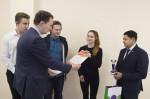[размер: 2000x1331 пикселей; 1807,4 кбайт]  Подписание меморандума между опорным вузом и Региональной общественной организацией Казахстана  фотограф В. Невидимов