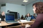 [размер: 800x537 пикселей; 57,4 кбайт]   04.10.07 - 16.11.07     Курсы повышения квалификации и стажировки – 2007. НГТУ. Курс «Компьютерная графика и веб-дизайн»   фотограф В. Невидимов